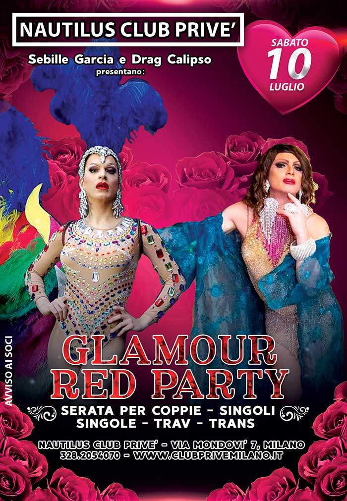 Glamour Red party