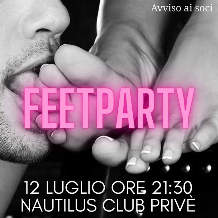 Festa del Piede - Feet Party - Trampling