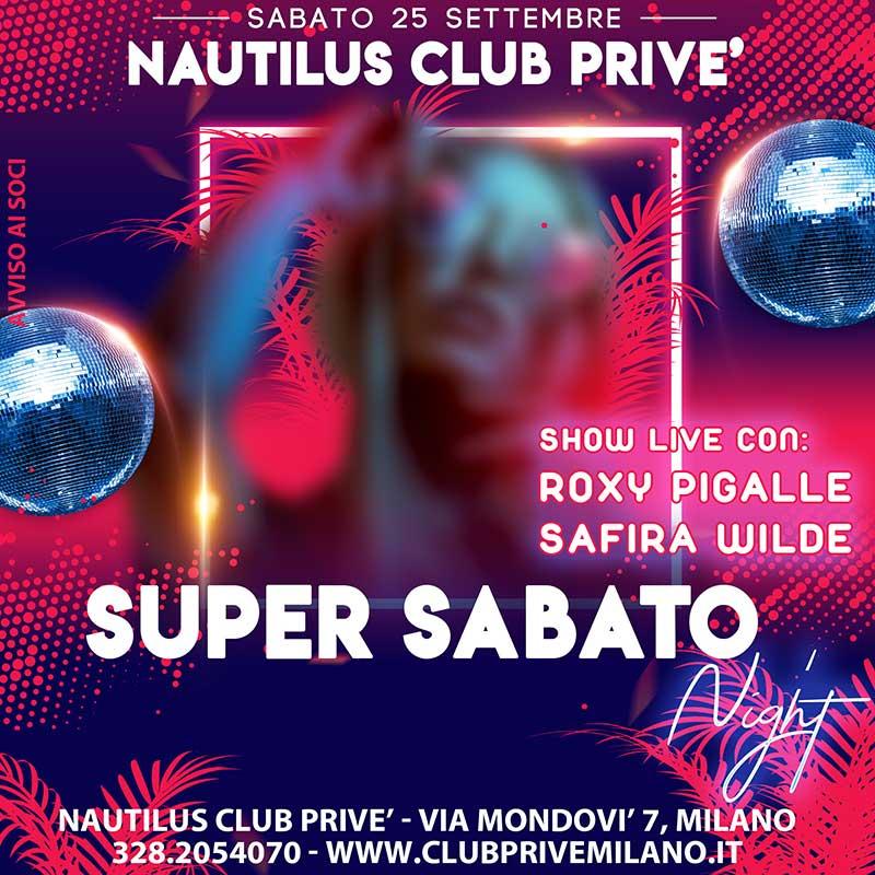 SABATO CLUB PRIVE